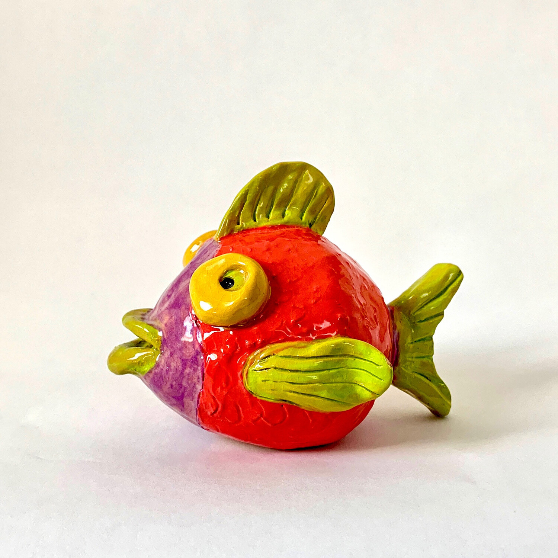 Pinch Pot Fish - Ceramic