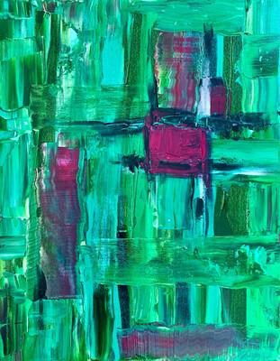Green Vibration - Acrylic
