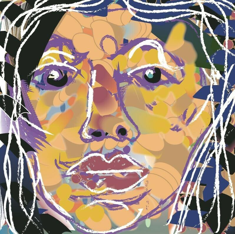 Self Portrait - Digital Art