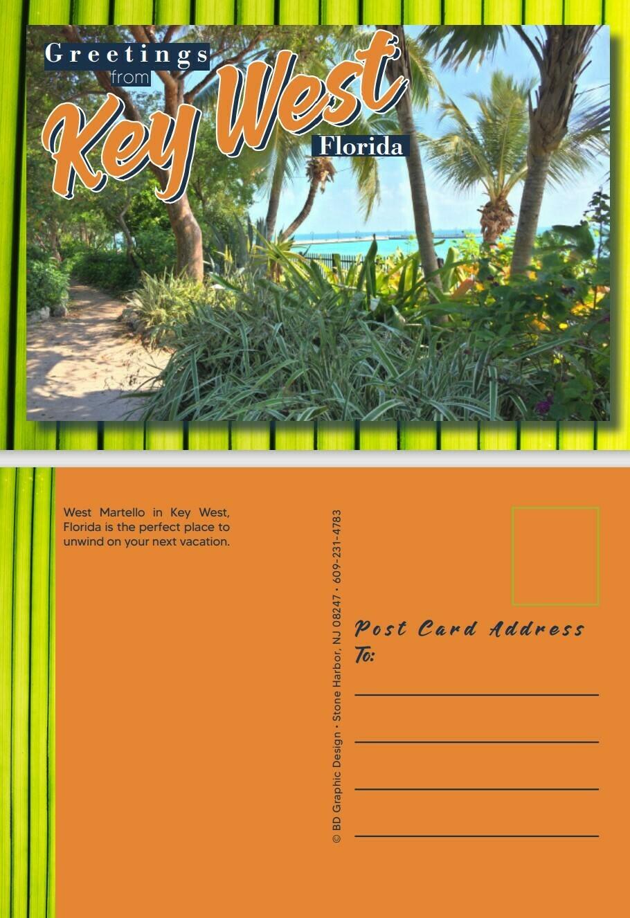 Sample Postcard - Graphic Design