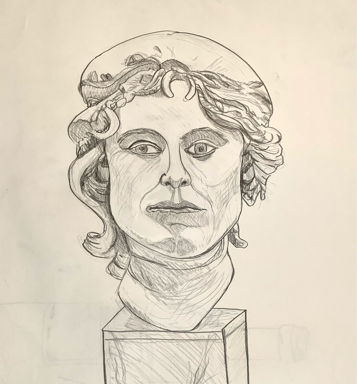 Greek Goddess - Graphite