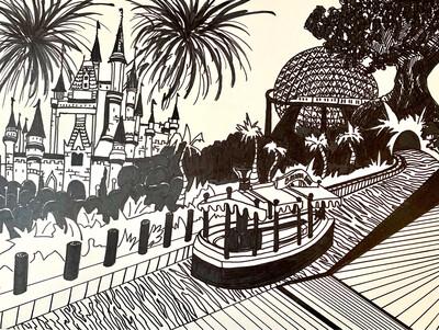 Disney Theme Parks - Line Project - Marker