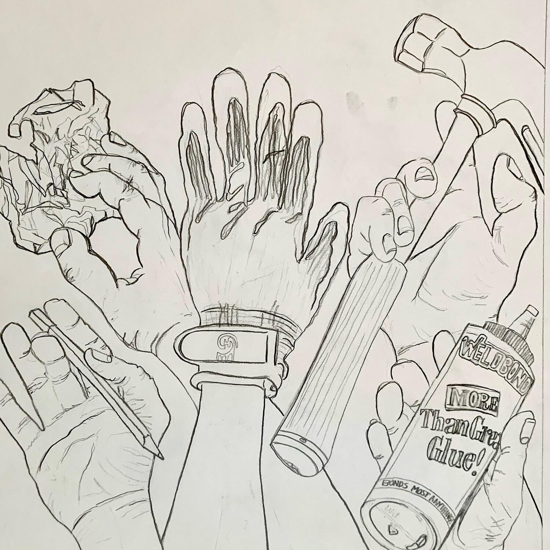 Hand Study - Graphite