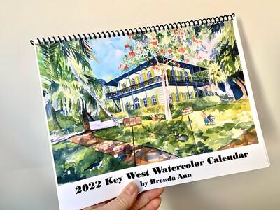 2022 Key West Wall Calendar