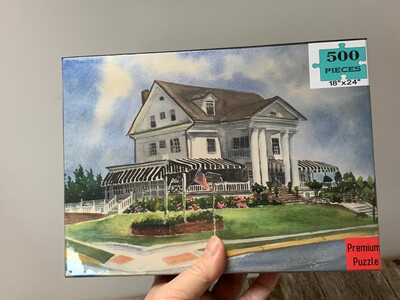 Cape May Puzzle - 500 Piece Peter Shields Inn Puzzle 18