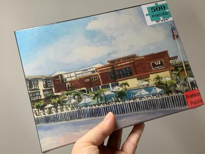 Avalon NJ Puzzle - 500 Piece Windrift Resort Puzzle 18