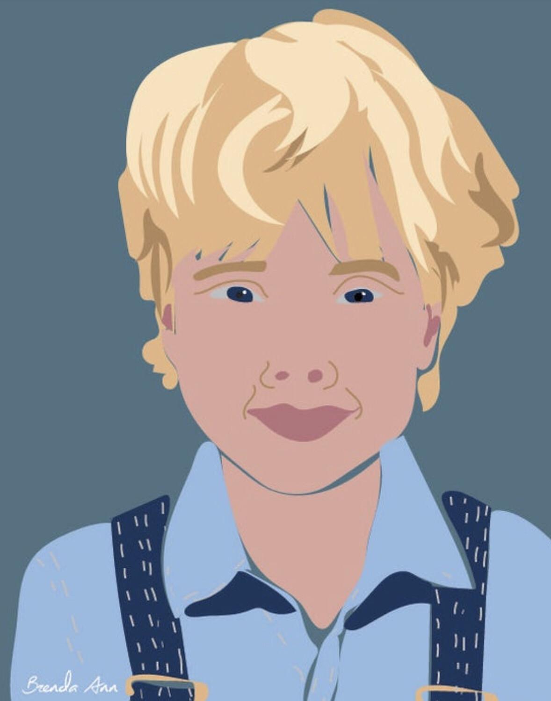 Custom Minimalist Digital Portrait Illustration - Vector Art - Printable Art - Personalized Illustration - Physical or Digital - $80 and up