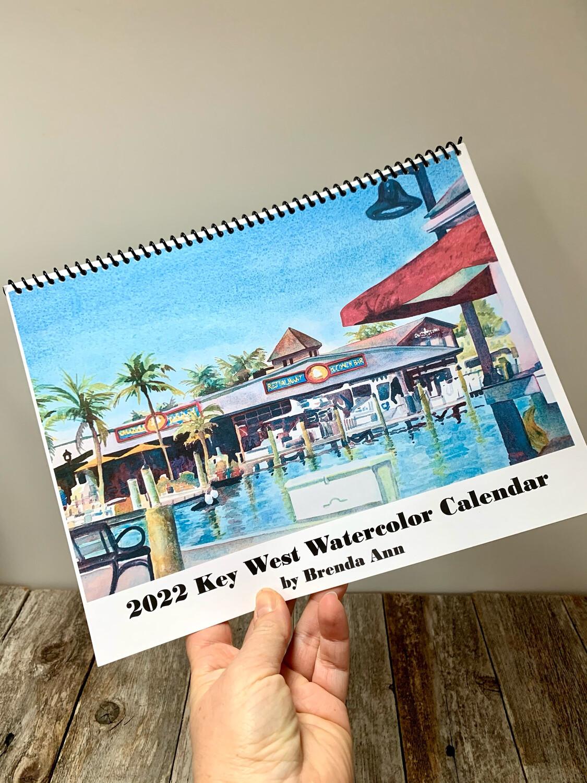 2021 or 2022 Key West Wall Calendar