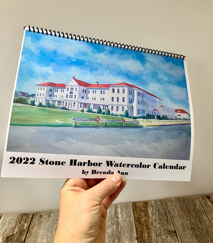 2022 Stone Harbor Wall Calendar