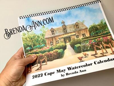 2022 Cape May Wall Calendar
