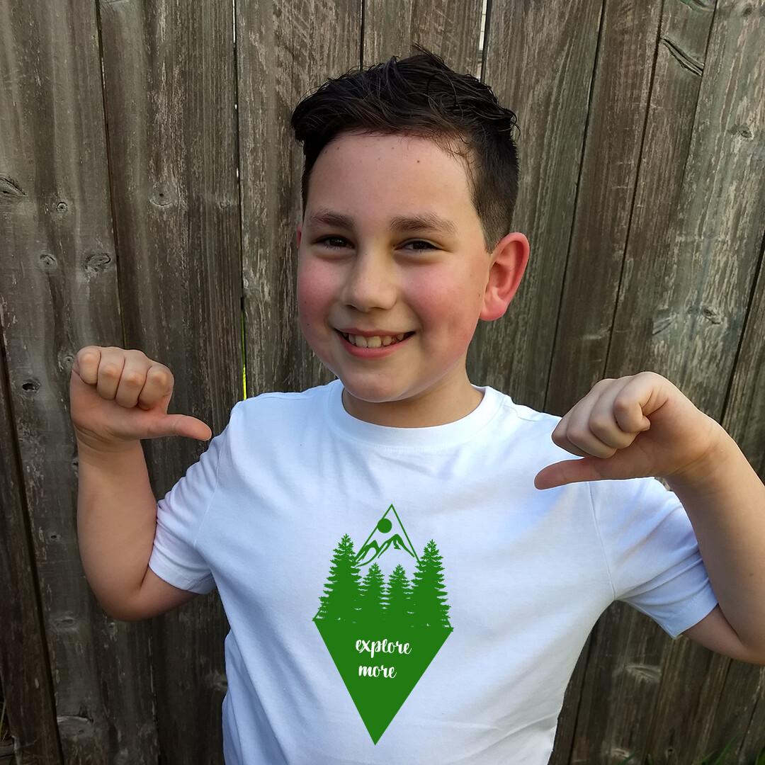 Explore More Children's T-Shirt