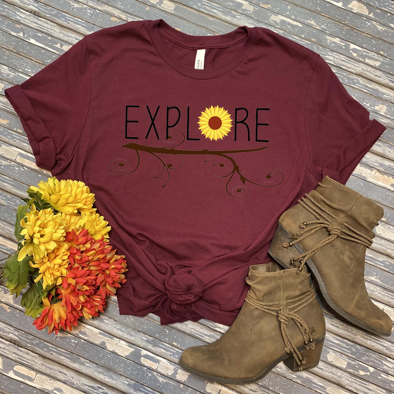 Explore Children's T-Shirt