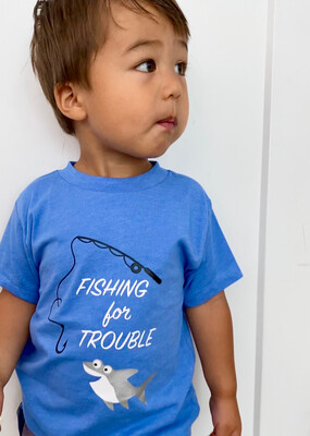 Fishing For Trouble Children's T-Shirt