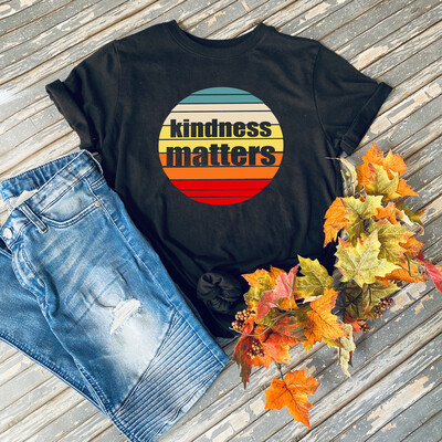 Kindness Matters Vintage Graphic Tee