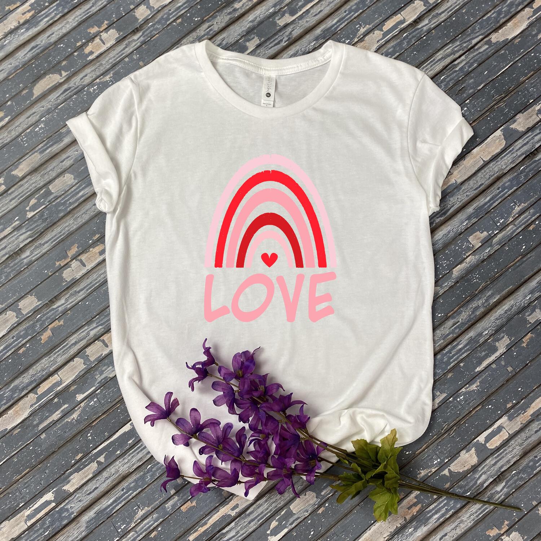 Love Rainbow T Shirt