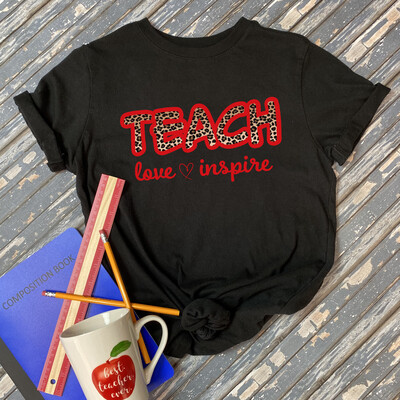 Teach Love Inspire Graphic Tee
