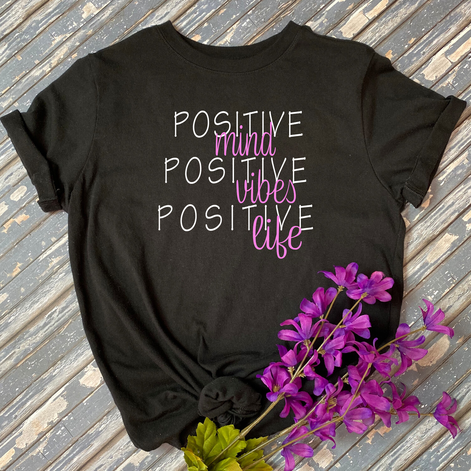 Positive Life Graphic Tee