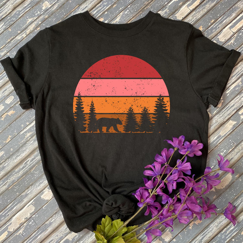 Nature Sunset Graphic Tee