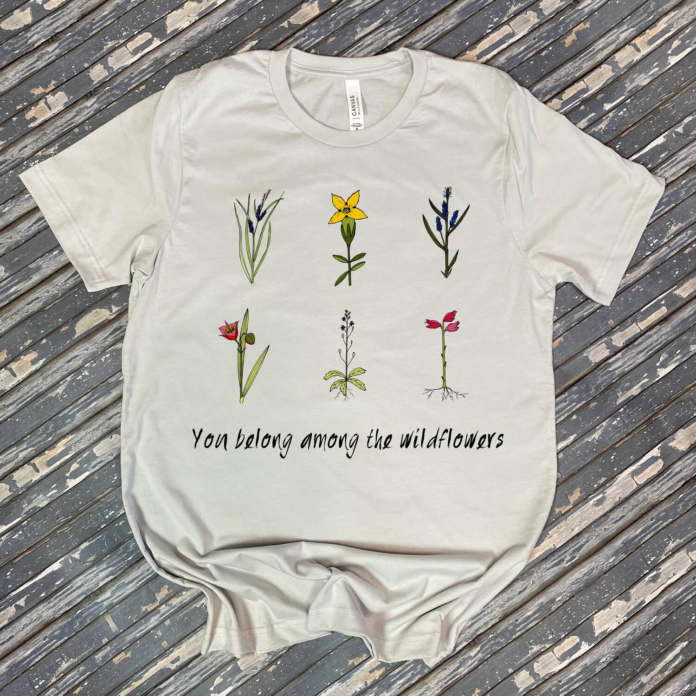 Among The Wildflowers Graphic Tee