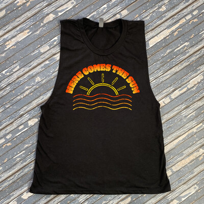 Here Comes The Sun Graphic Festival Tee