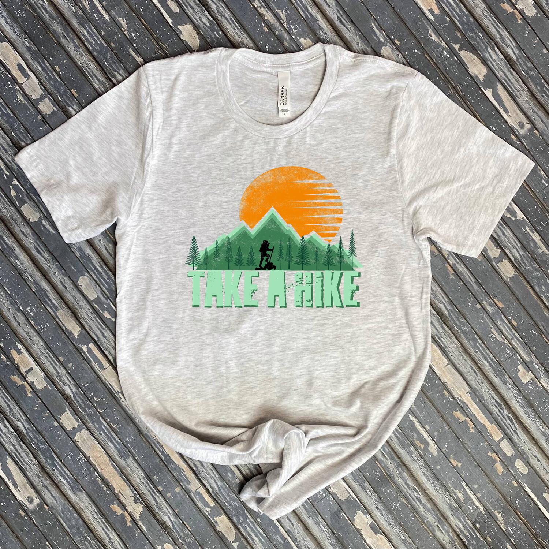 Take A Hike Graphic Tee