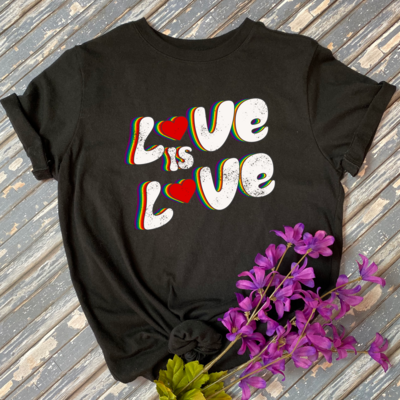 Love Is Love Graphic Tee