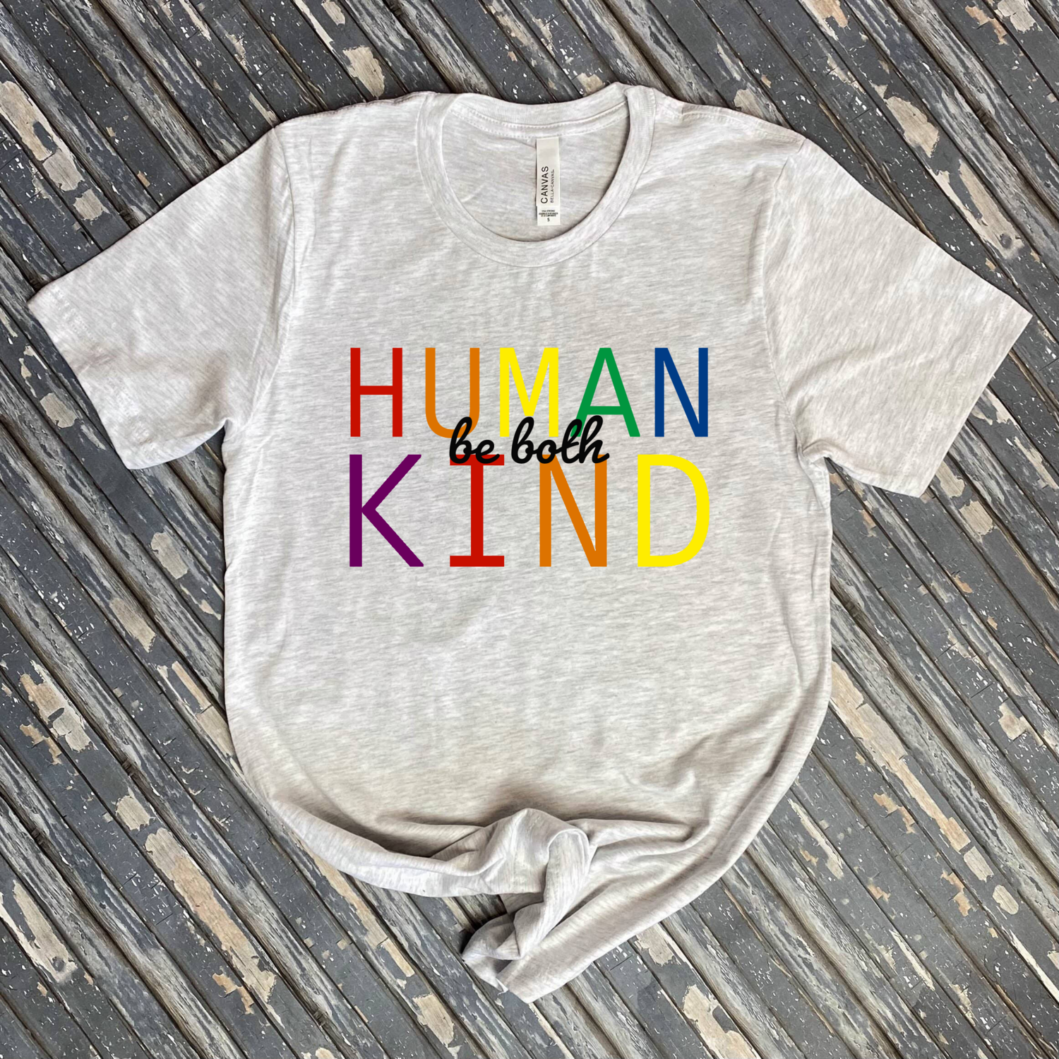 Be Human Be Kind Graphic Tee