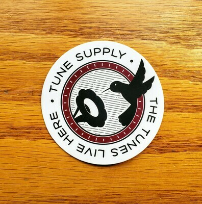 Two Tune Supply Vinyl Stickers