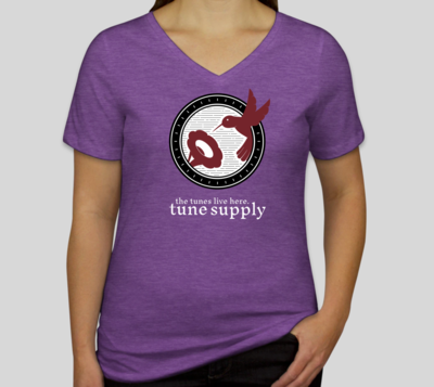 Supersoft Women's V-Neck Tees