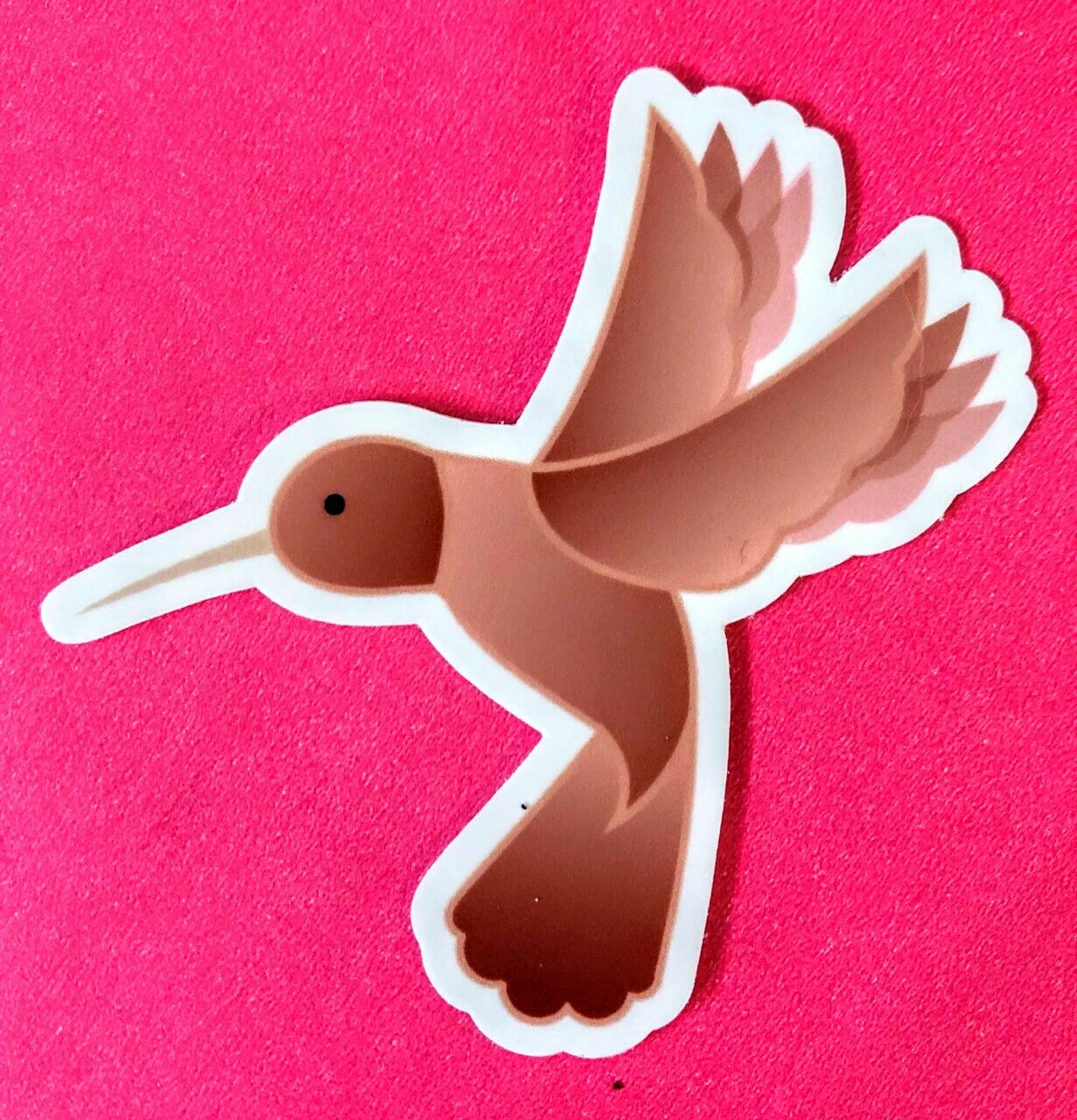 "Two Tune Supply ""Hummingbirb"" Vinyl Stickers"
