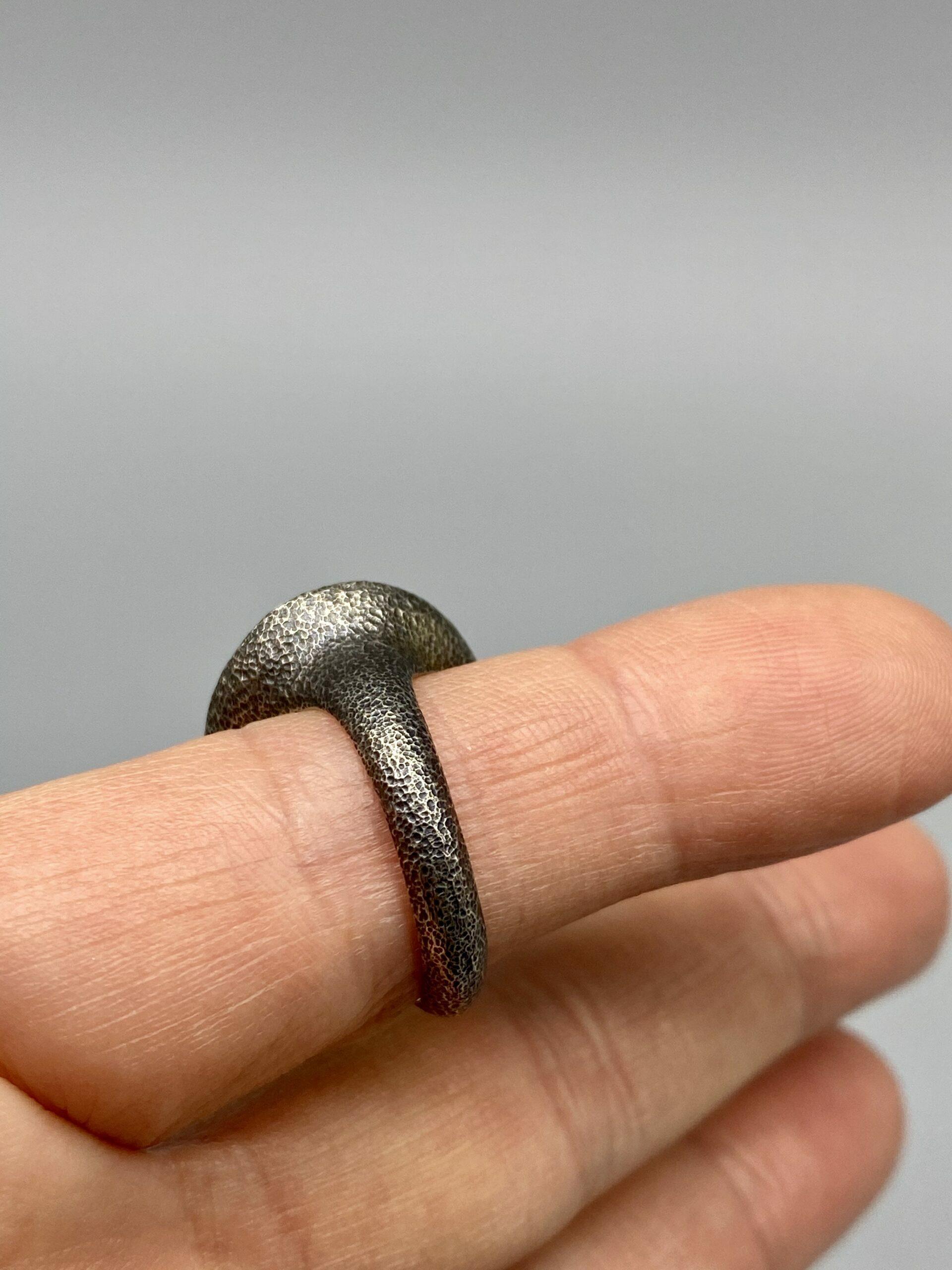 The Sirens All Seeing Eye Ring \u2022 Moonstone Eye Ring \u2022 Size 6