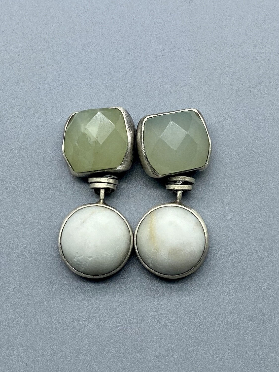 Jade/Riverstone Earrings