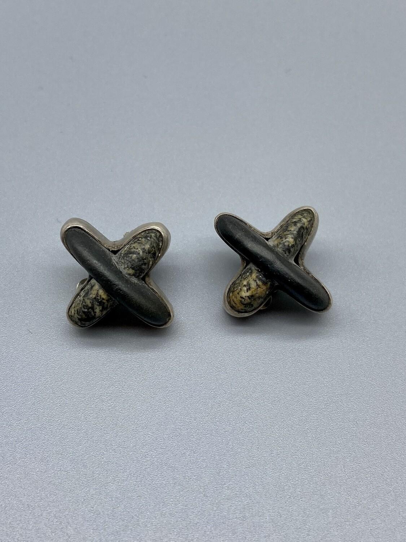 Riverstone Clip Earrings