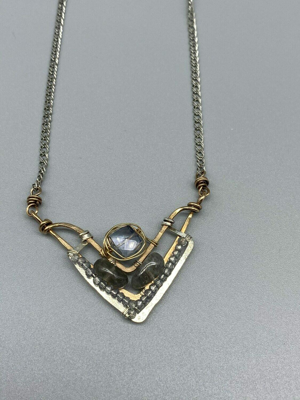 Hand Woven Gemstone Necklace