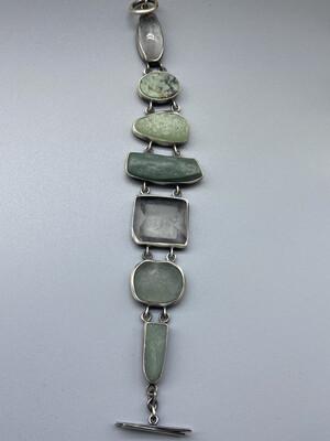 Organic Multi-stone Bracelet  - Terri Logan - Richmond IN