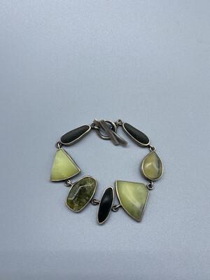 Multi-Stone Bezel Set Bracelet