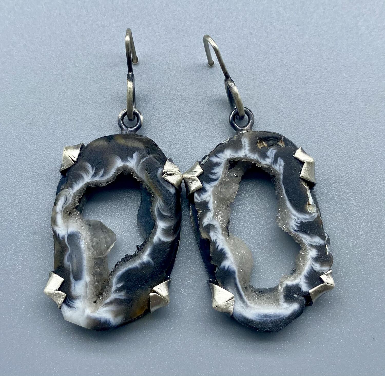 Geode/Druzy Earrings