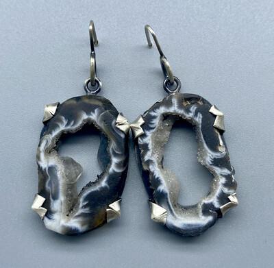 Geode Druzy Earring