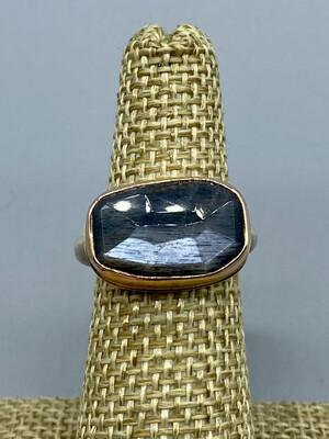 Grey Moonstone Ring