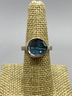 London Blue Topaz Ring