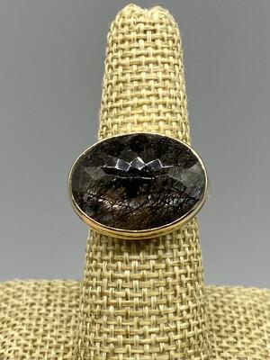 Tourmalated Quartz Ring