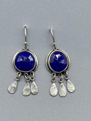 Lapis Fringe Earrings