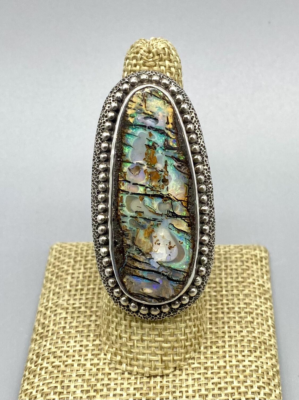 RD656 Boulder Opal Ring - Margaret Thurman - Sedona , AZ