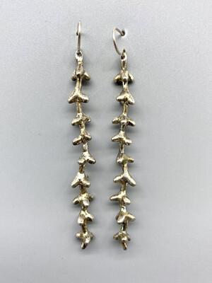 Palm Flower Earrings