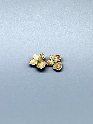 4926BZ Hydrangea Post Earrings - Michael Michaud