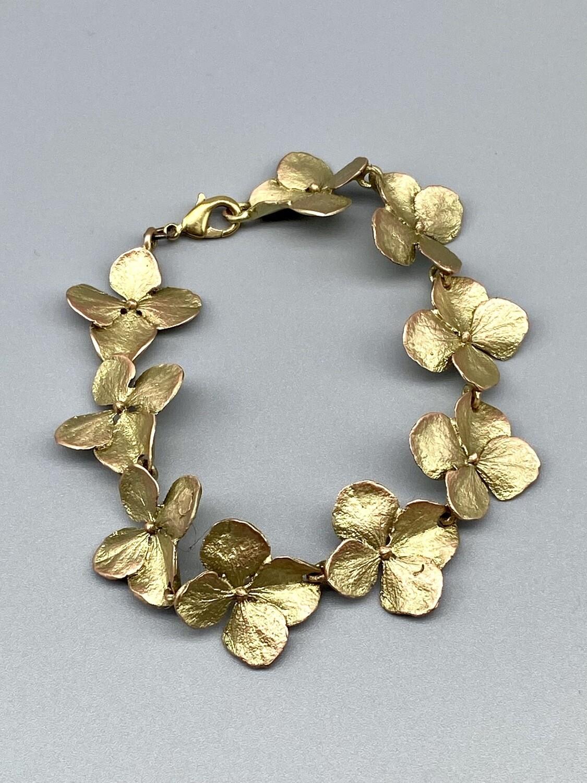 7204BZ Hydrangea Bracelet - Michael Michaud - Bellmore, NY