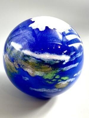 Earth Handmade Paperweight