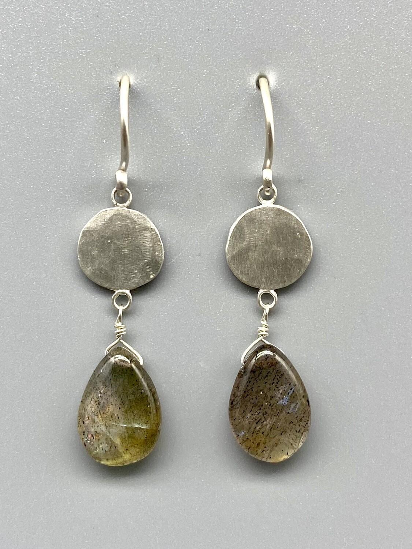 Labradorite Sterling Silver Earring