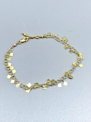 22k Vermeil Fringe Bracelet
