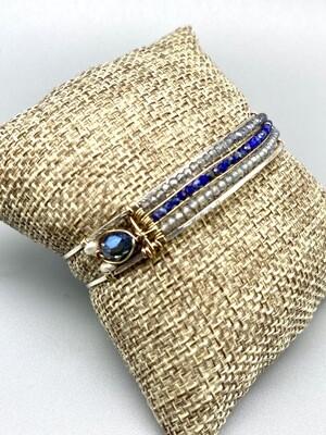 Handmade Gemstone Cuff